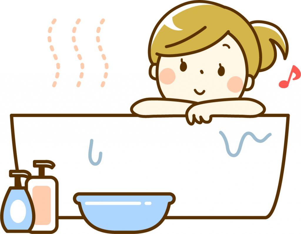 夏こそ湯船に使って冷え対策